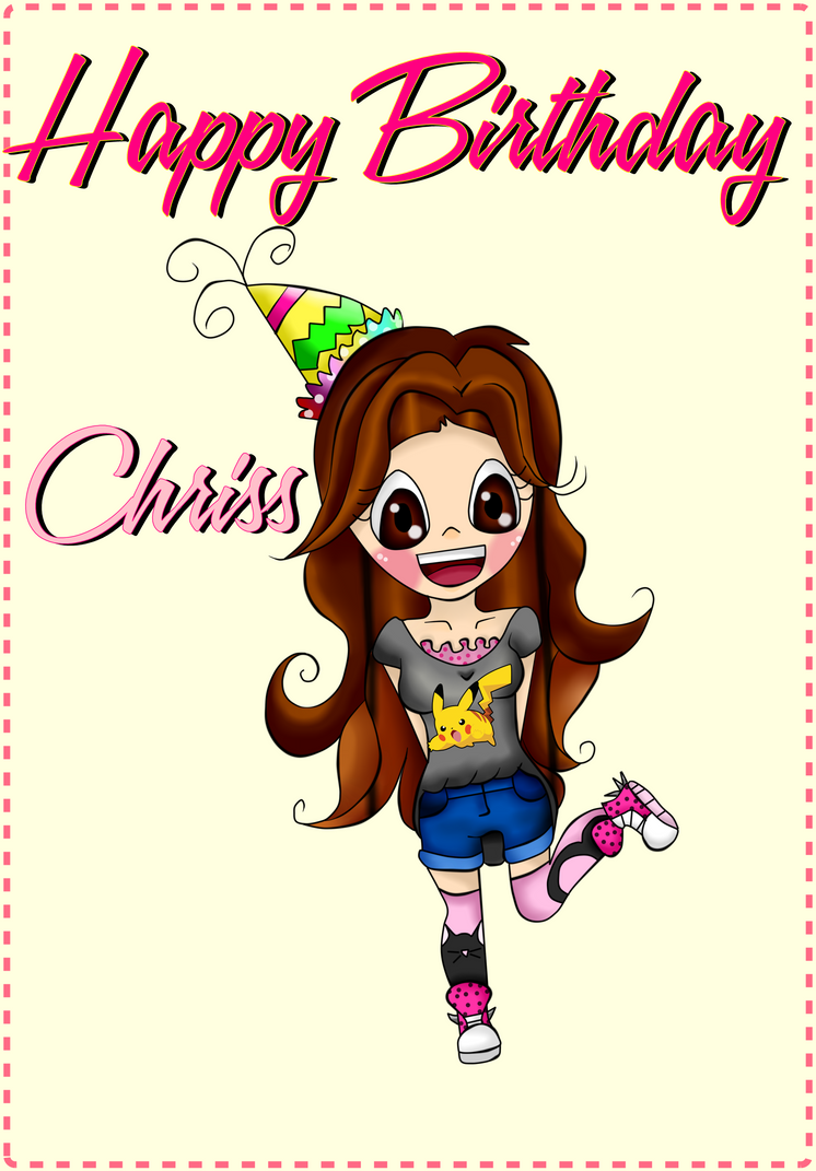 Happy Birthday Sobrina By Jungraejin On Deviantart
