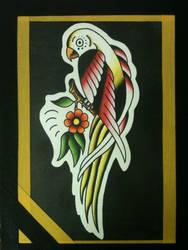 Parrot based on Stoney flash by heather-holyoak