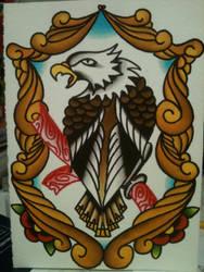 Eagle by heather-holyoak