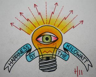 Happiness by the Kilowatt by heather-holyoak