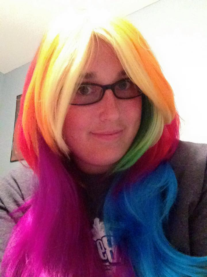 rainbow wig by slipknot012345678