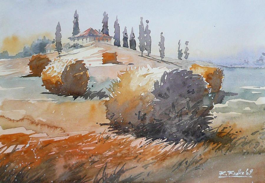 Fields od Toscany by Kegriz