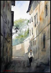 Italian street by Kegriz
