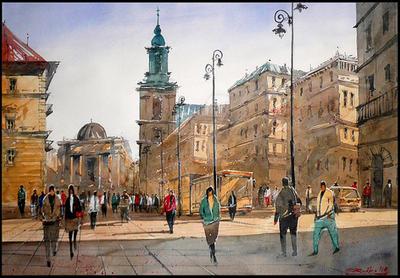 Krakowskie Przedmiescie by Kegriz
