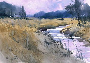 Rzeka Orlanka by Kegriz