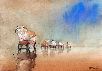 Bulldogi by Kegriz