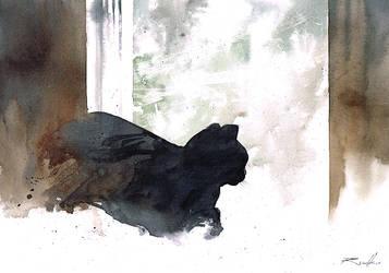 just cat by Kegriz