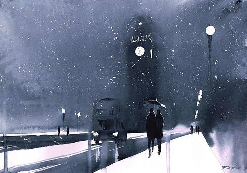 London winter by Kegriz