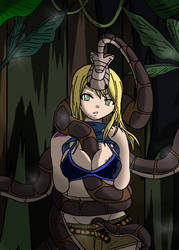 Kaa And Lucy Heartfilia by PhantomGline