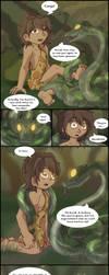 The Snake and the Korak by PhantomGline