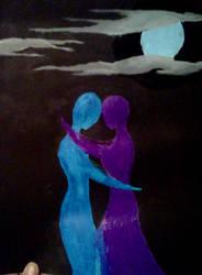 blacklight couple