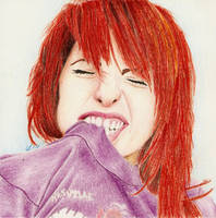 Hayley Williams by luckynumber44
