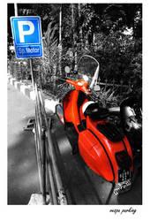 vespa parking by rck182