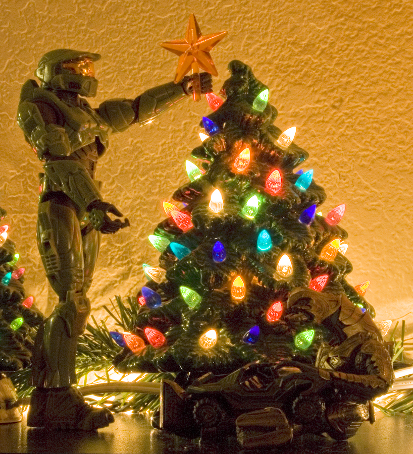 Halo Christmas Ornament.Halo Christmas By Therealphotochick On Deviantart