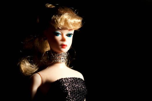 Barbie in the studio