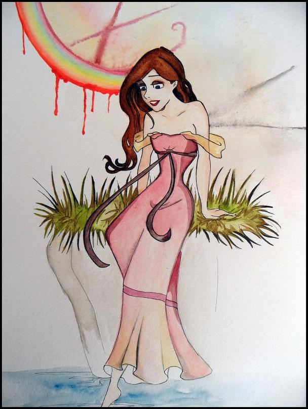 Quelques gribouillages de personnages à l'aquarelle Just_a_princess_by_lesuicidedelamouche-d3bkxel