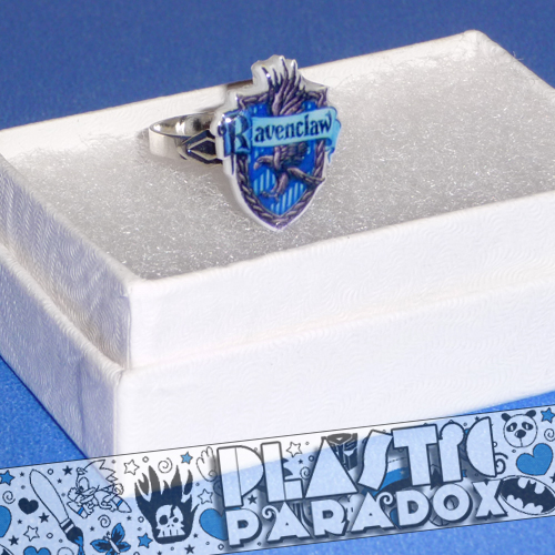 Ravenclaw Adjustable Ring by Plastic-Paradox