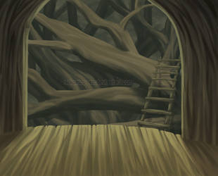 The woodhouse by Nekopico-pen