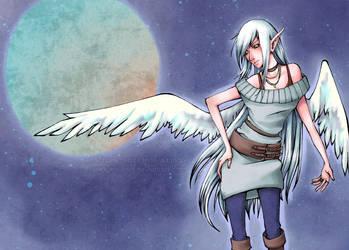 Kadya moonchild by Nekopico-pen