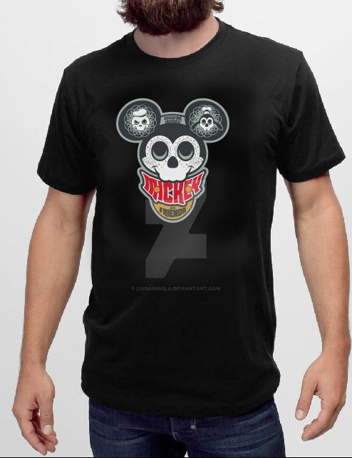 Mickey Tee by LuisArriola