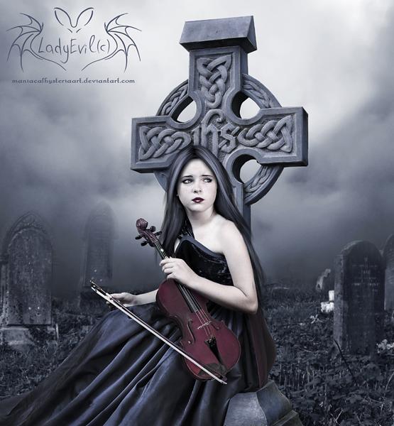 The Magenta Violin by LadyEvilArts