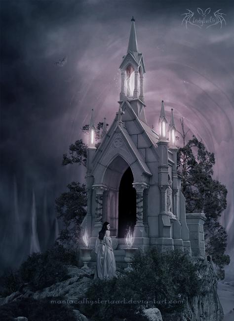 Secret Crypt by LadyEvilArts