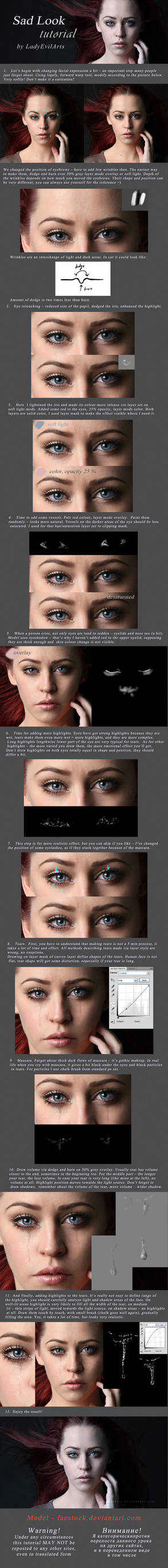 Sad Look Tutorial