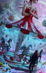 Carousel Of Winter by LadyEvilArts