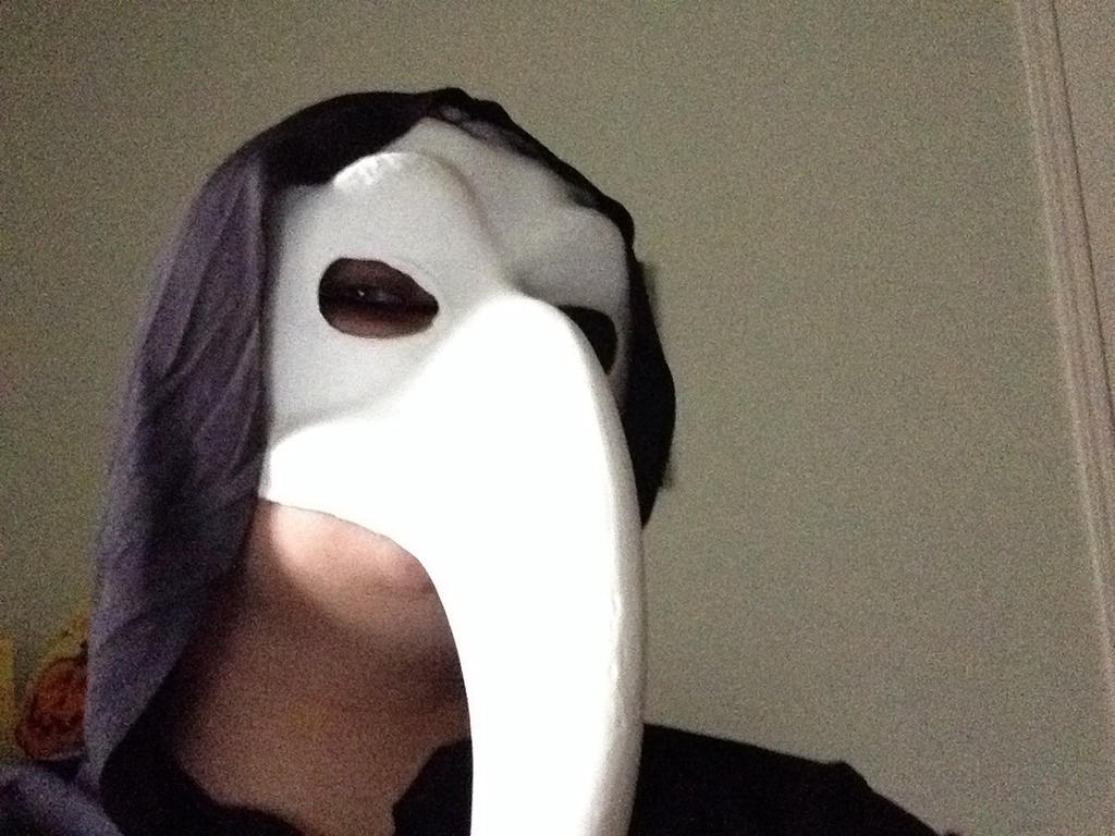 Plague doctor selfie by TheDarkDuskWolf