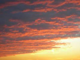 sky on fire in Missourri by xeniaweyne