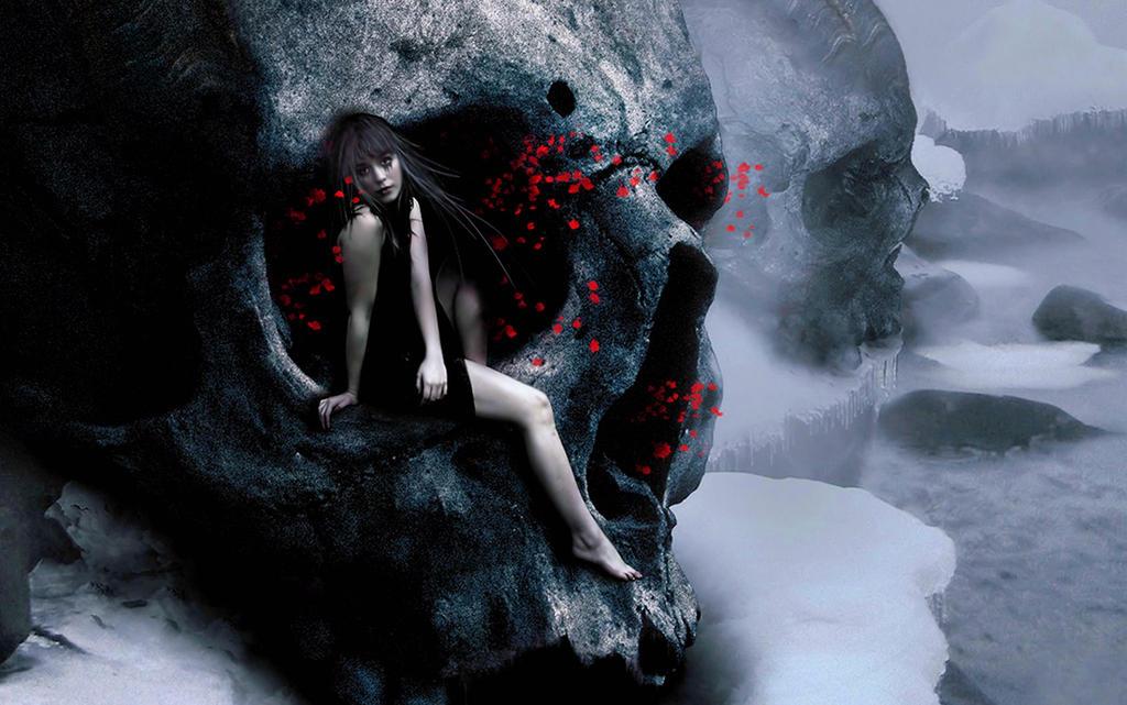 gothic vampire bloody girl - photo #42