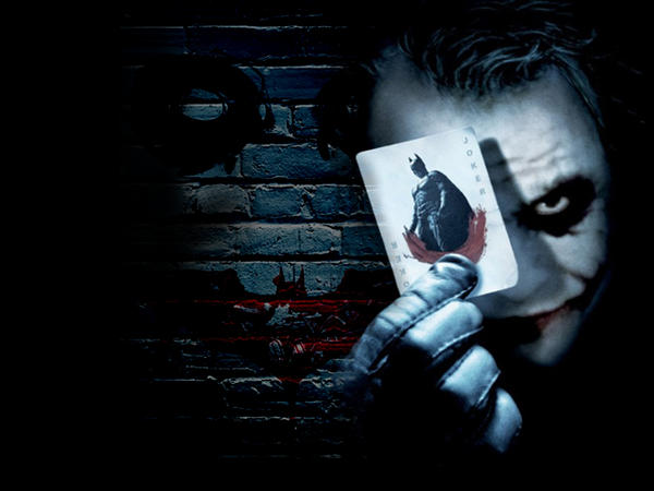 Joker: Writing on the Wall by Kornari