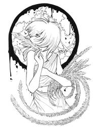 - Feather Lady - by edylisation