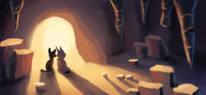 Cave light by Nightfeather123