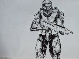 Commission: Master Chief by abe70280