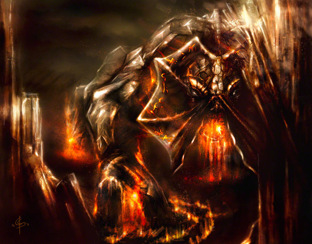 Skeld Beast by DeadInTheAttic