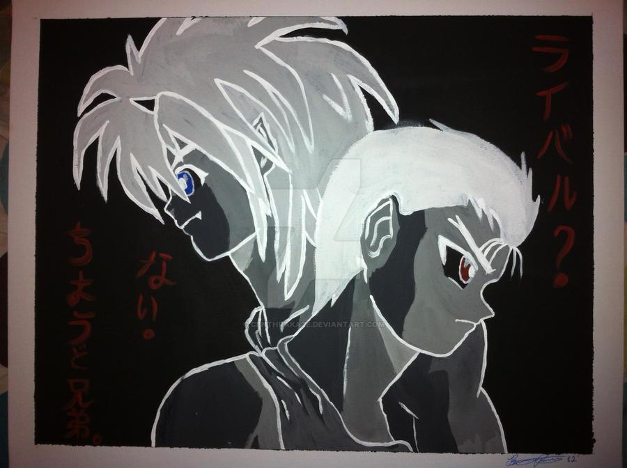 Brothers by CenthraKaze