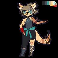 OTA | Cat lady by multicoloredpink