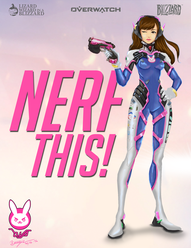 D.va Overwatch Nerf this! by Beyond-BrendaBB