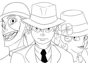 Daring Trio by mastertoon4
