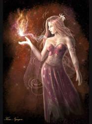 Queen Auren by lyxia