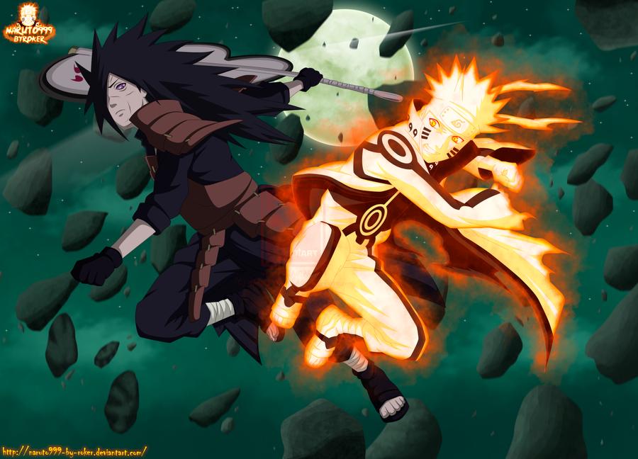 naruto vs madara epic battle by naruto999 by roker on deviantart