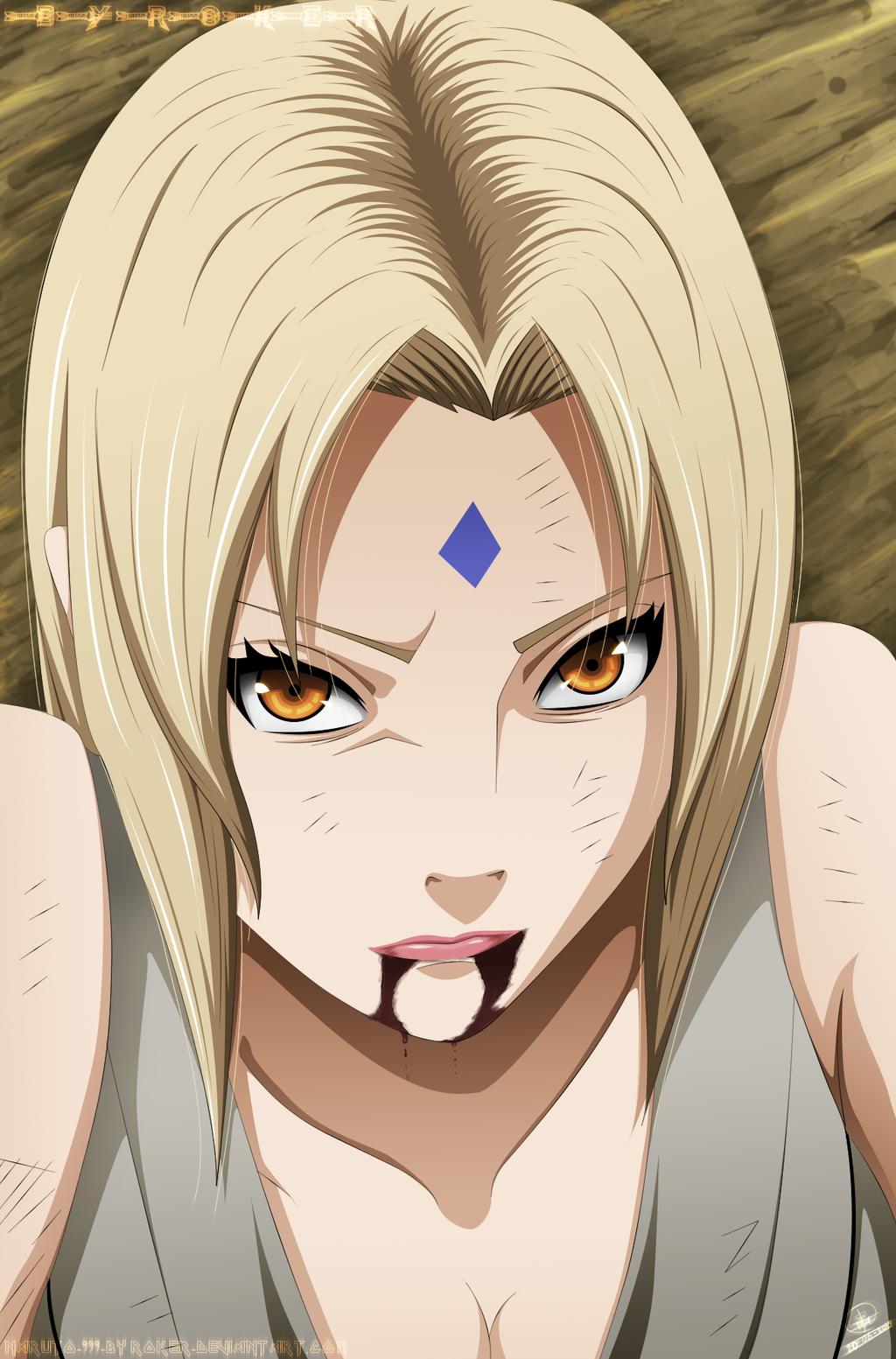 TSUNADE-(Manga-635) by NARUTO999-BY-ROKER on DeviantArt