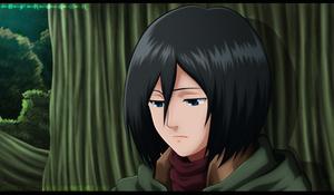 Mikasa-De-(Shingeki-no-Kyojin)