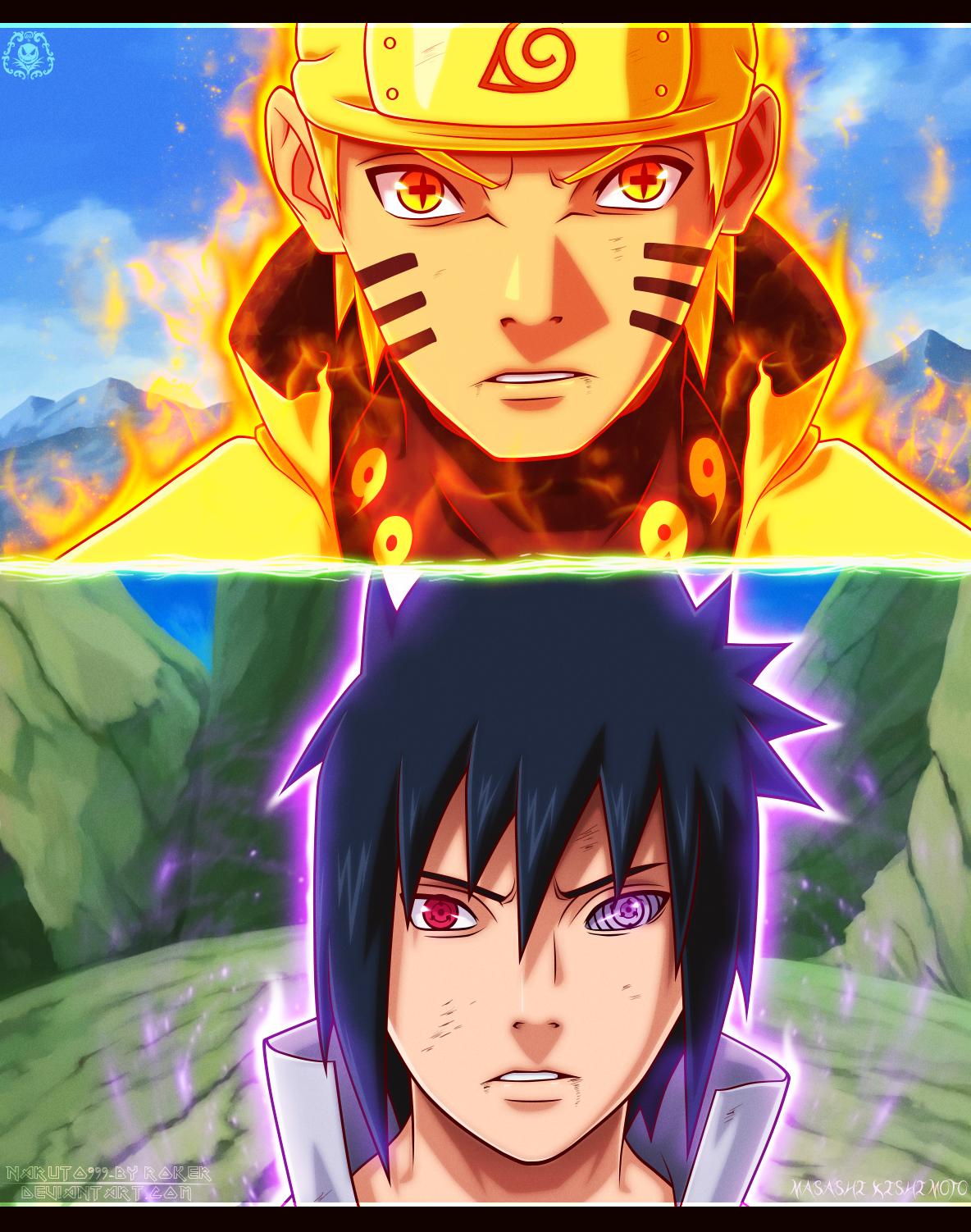 Naruto vs Sasuke final fight by The-103 on DeviantArt