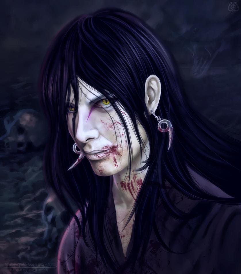 La Serpiente Blanca De Konoha (Orochimaru) by NARUTO999-BY-ROKER