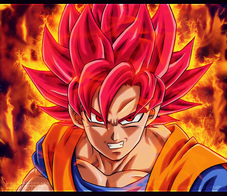 Goku Sjj Dios by NARUTO999-BY-ROKER