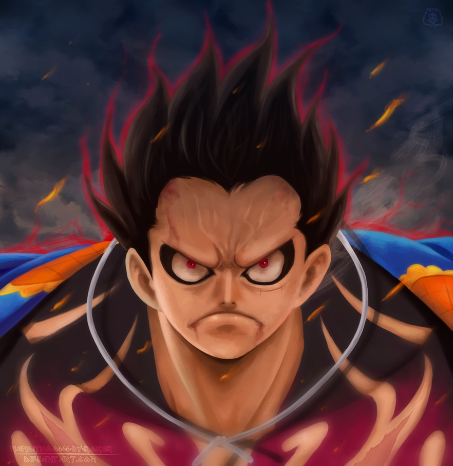 Luffy Gear Fourth by NARUTO999-BY-ROKER