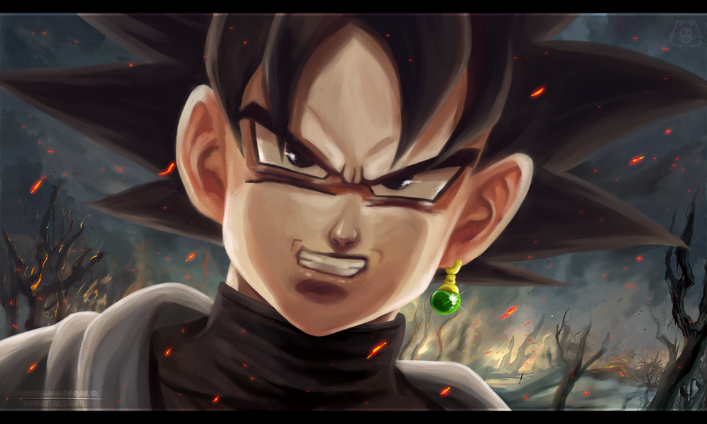 Black-Goku (Dragon Ball Super) by NARUTO999-BY-ROKER