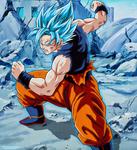 Goku ssj Dios Blue - Manga 24
